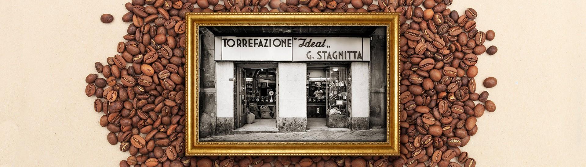 Stagnitta Ideal Caffè, a leap into history